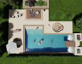 Nro 24 kilpailuun Pool Design with and without Spa käyttäjältä Urtina