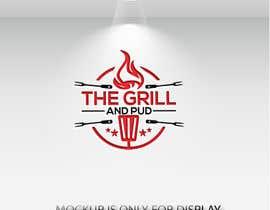 "Nro 145 kilpailuun LOGO DESIGN FOR. ""The Grill and Pud"" käyttäjältä riad99mahmud"