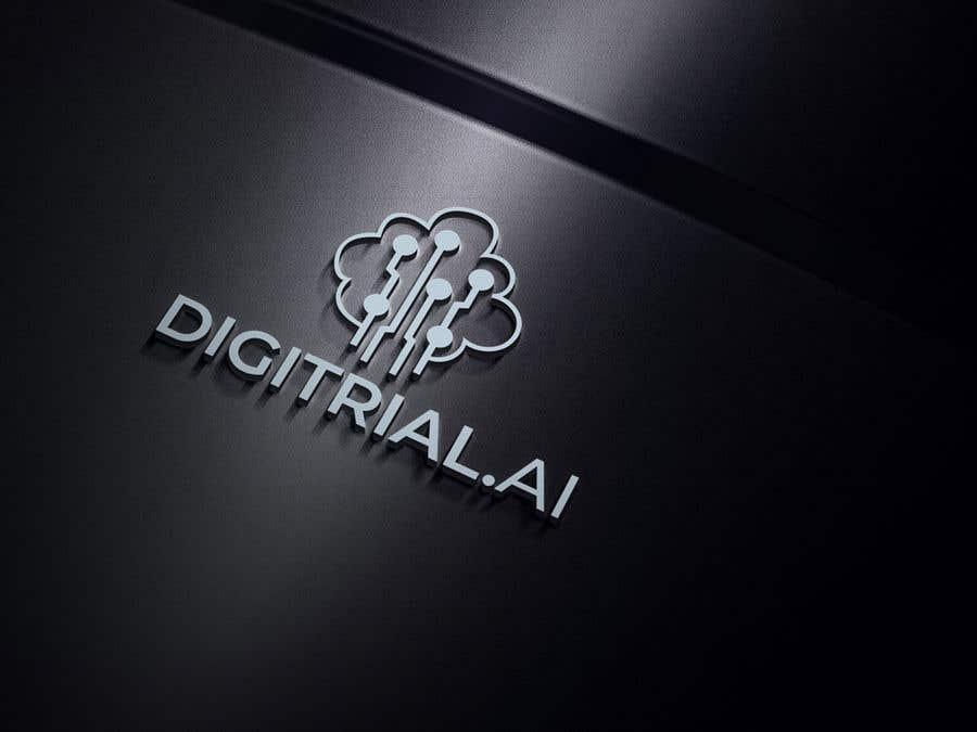 Penyertaan Peraduan #                                        169                                      untuk                                         Logo improvement for digitrial.ai