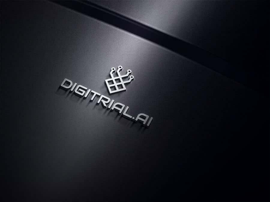 Penyertaan Peraduan #                                        204                                      untuk                                         Logo improvement for digitrial.ai