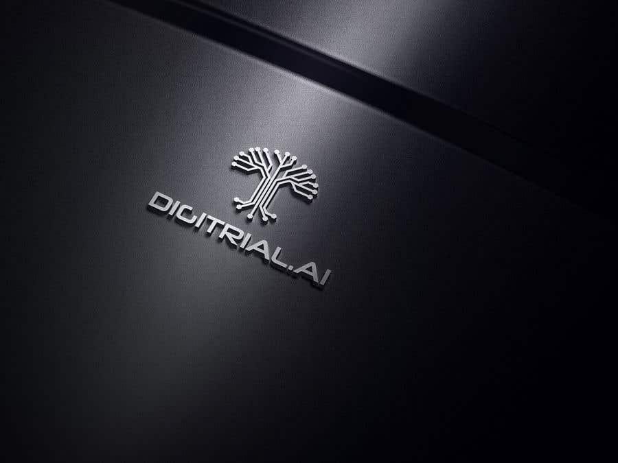 Penyertaan Peraduan #                                        73                                      untuk                                         Logo improvement for digitrial.ai