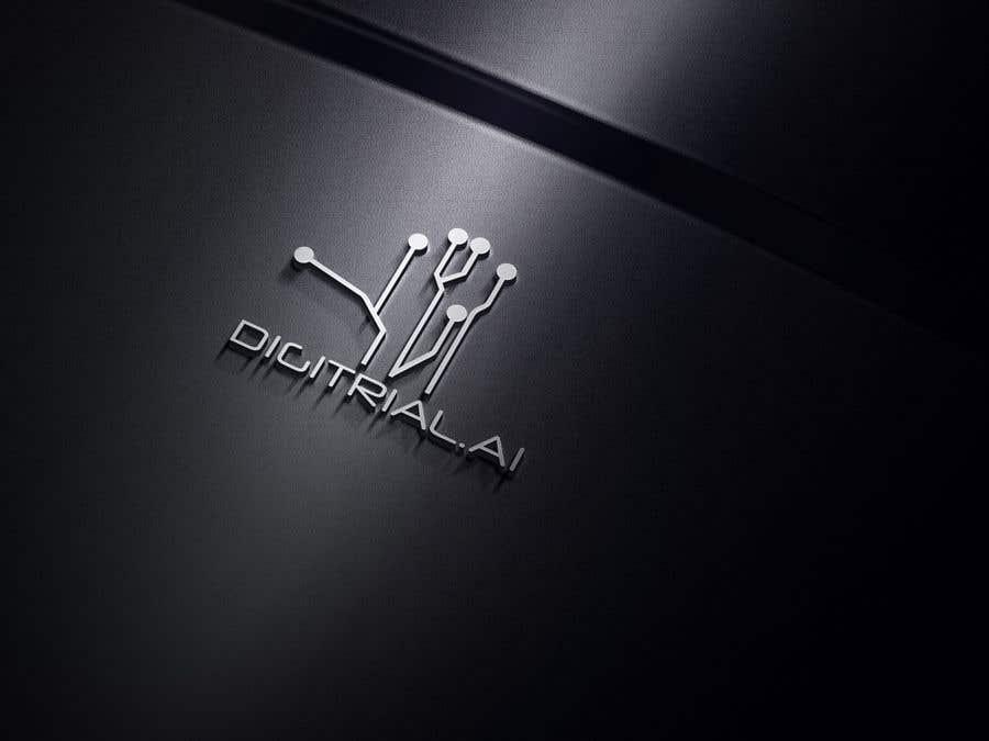 Penyertaan Peraduan #                                        142                                      untuk                                         Logo improvement for digitrial.ai