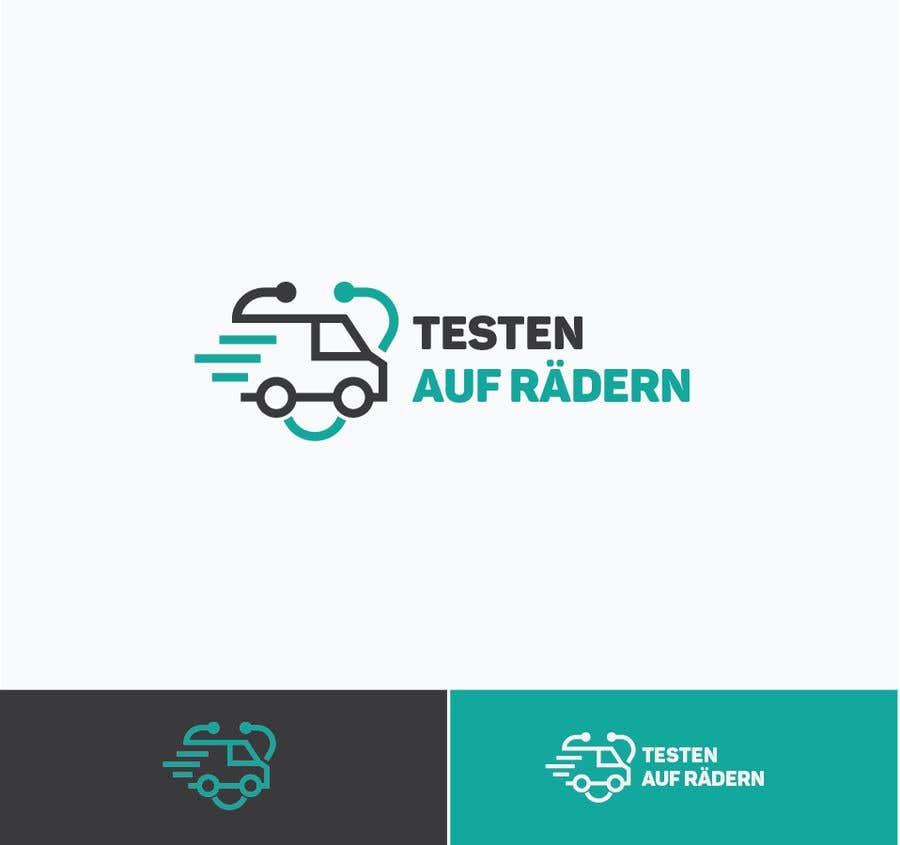 """Konkurrenceindlæg #                                        44                                      for                                         Logo for """"mobile COVID-test"""""""