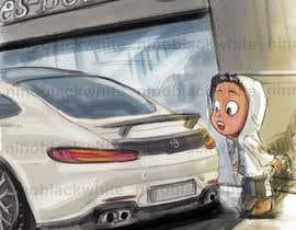 #11 для Illustrate a Image with a Car от ninoblackwhite