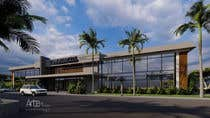 3D Rendering Entri Peraduan #11 for 2 Story Commercial Architectural renderings with floor plans
