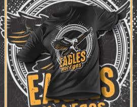 Nro 135 kilpailuun Eagles T-Shirt Design käyttäjältä mohonamm13