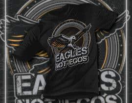 Nro 201 kilpailuun Eagles T-Shirt Design käyttäjältä mohonamm13