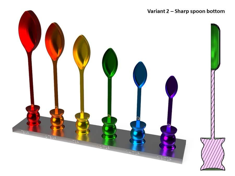 Kilpailutyö #                                        13                                      kilpailussa                                         * WANTED * Custom Product Design - Measuring Spoons