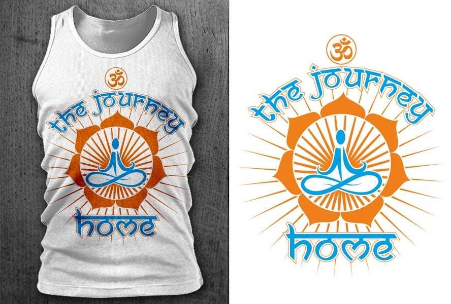 Kilpailutyö #26 kilpailussa Design a T-Shirt for a Yoga/Ashtanga inspired clothing company