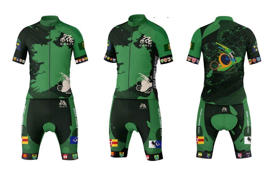 Конкурсная заявка №                                        9                                      для                                         cycling kit designed