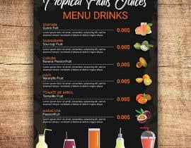 #29 untuk drinks menu for restaurant oleh imranislamanik