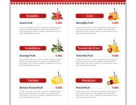 #40 untuk drinks menu for restaurant oleh himelrafi101