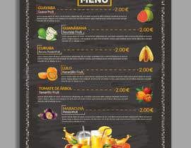 #38 untuk drinks menu for restaurant oleh joyantabanik8881