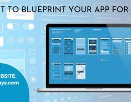 """#6 untuk A banner for my profiles that says """"I want to blueprint your app for free!"""". Make it interesting and clean. The final files must be sized for Facebook, LinkedIn and Twitter. Also include the company web address: theappguys.come oleh PrincessAj3"""