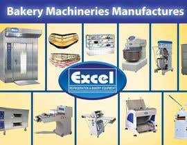 #11 untuk Flyer Design for Bakery Machinery and Refrigeration Equipment oleh Manojm2