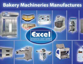 #18 cho Flyer Design for Bakery Machinery and Refrigeration Equipment bởi Manojm2