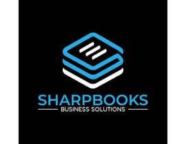 Nro 249 kilpailuun Design Logo and Business Stationery for SharpBooks Business Solutions käyttäjältä TubaDesign