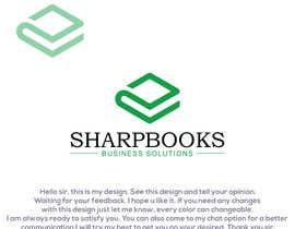 Nro 235 kilpailuun Design Logo and Business Stationery for SharpBooks Business Solutions käyttäjältä alihasanreza