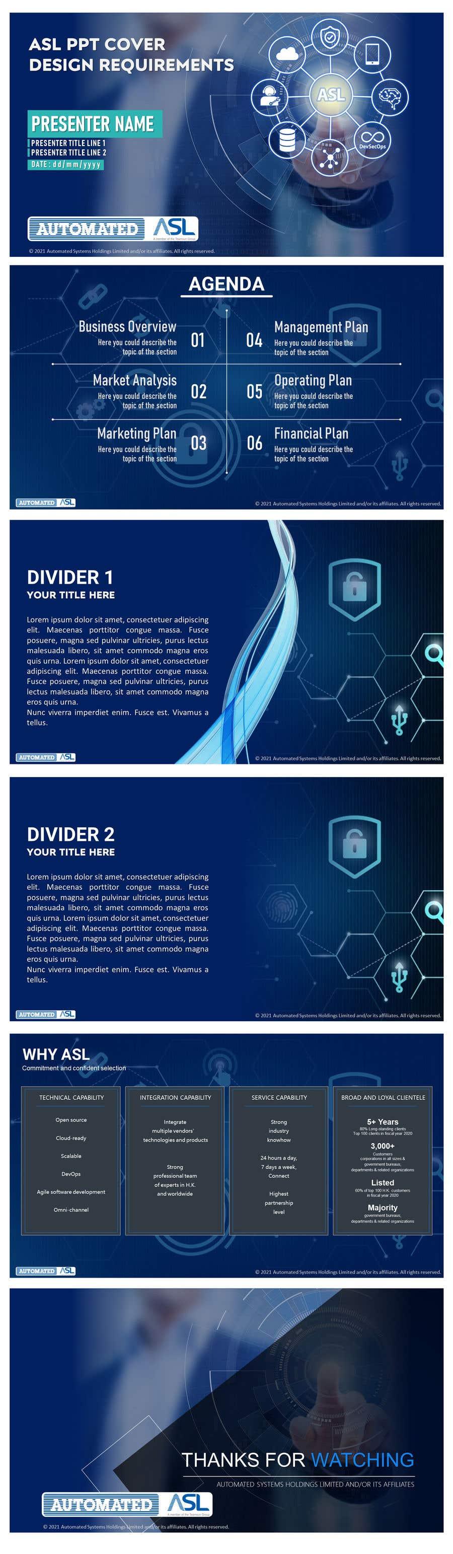 Bài tham dự cuộc thi #                                        49                                      cho                                         Corporate PPT Template Design (6 slides)
