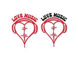 #26 untuk LOVE MUSIC oleh mitudesignlab