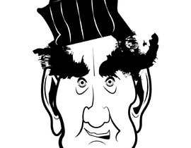 #32 for Design a head-only caricature of a legend! af mapacce