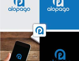 #59 for Minimalist modern logo design for mobile app AloPago by anthonyleon991