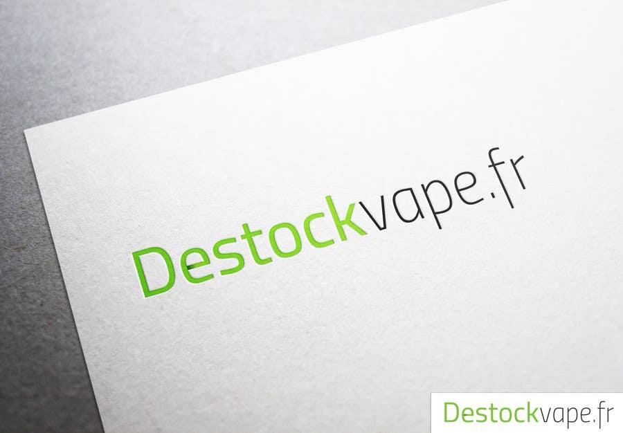 Konkurrenceindlæg #                                        3                                      for                                         Concevez un logo pour destockvape