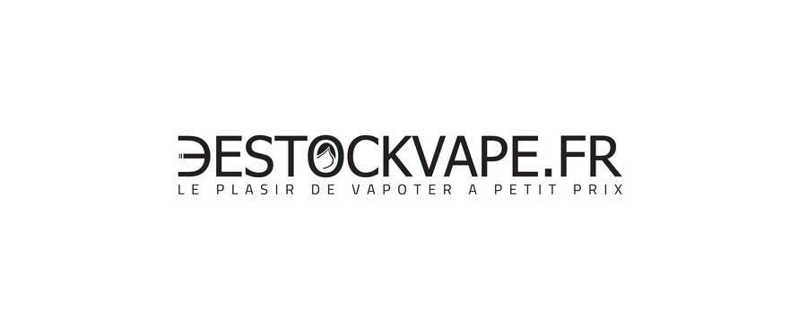 Konkurrenceindlæg #                                        21                                      for                                         Concevez un logo pour destockvape