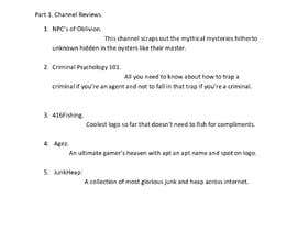#19 for Write a review ----- Youtube ----- Sample Group ----- Opinion review of Channels by Jawad015