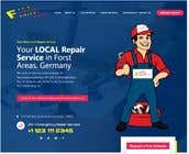 Build an advertising one-pager website for a craftsman offering repair services called Fixxblitz için Graphic Design27 No.lu Yarışma Girdisi