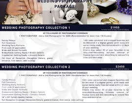 #24 cho Wedding Price List bởi tanzinahussain5