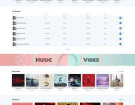 #105 cho Home Page redesign for Music Website bởi mukhiyaji