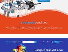 #122 cho Home Page redesign for Music Website bởi developerhafizur