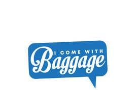 #143 для I Come with Baggage (Logo) от zainashfaq8