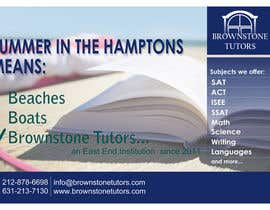 #17 untuk Advertisement Design for Brownstone Tutors oleh rpaarquitectura