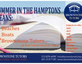#23 for Advertisement Design for Brownstone Tutors af rpaarquitectura