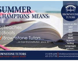 #32 untuk Advertisement Design for Brownstone Tutors oleh rpaarquitectura