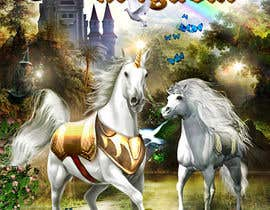 #44 for Illustrate Something for Unicorn Kingdom cover af dienel96