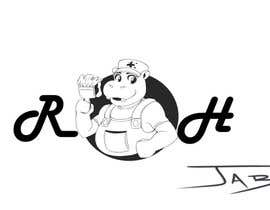#88 for Can YOU Fix my Logo? EASY MONEY! ReDesign Logo for Rusty Hippo by jalborart