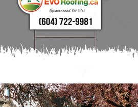 #10 for Lawn sign for Roofing company by Jun01