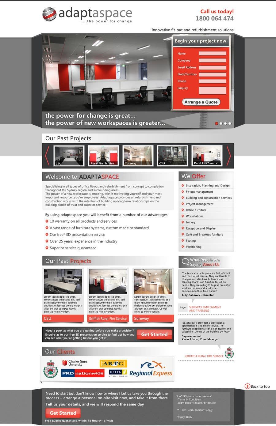 Konkurrenceindlæg #                                        14                                      for                                         Graphic Design for Landing Page