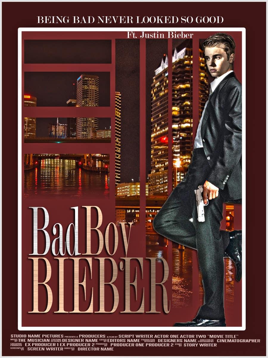 #133 for Design a poster for Gangster @JustinBieber, #BadBoyBieber! by brandonLee24
