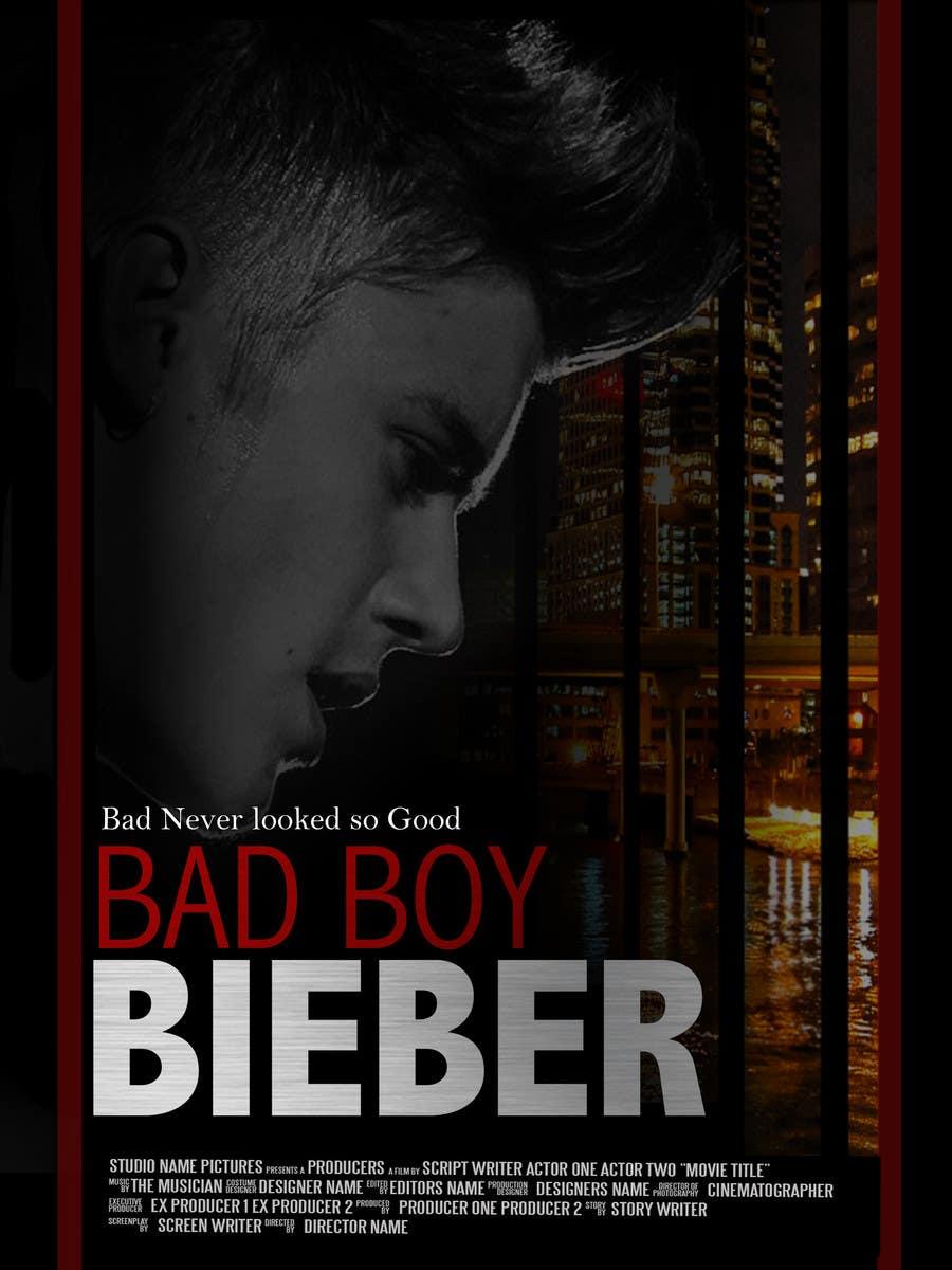 #134 for Design a poster for Gangster @JustinBieber, #BadBoyBieber! by brandonLee24