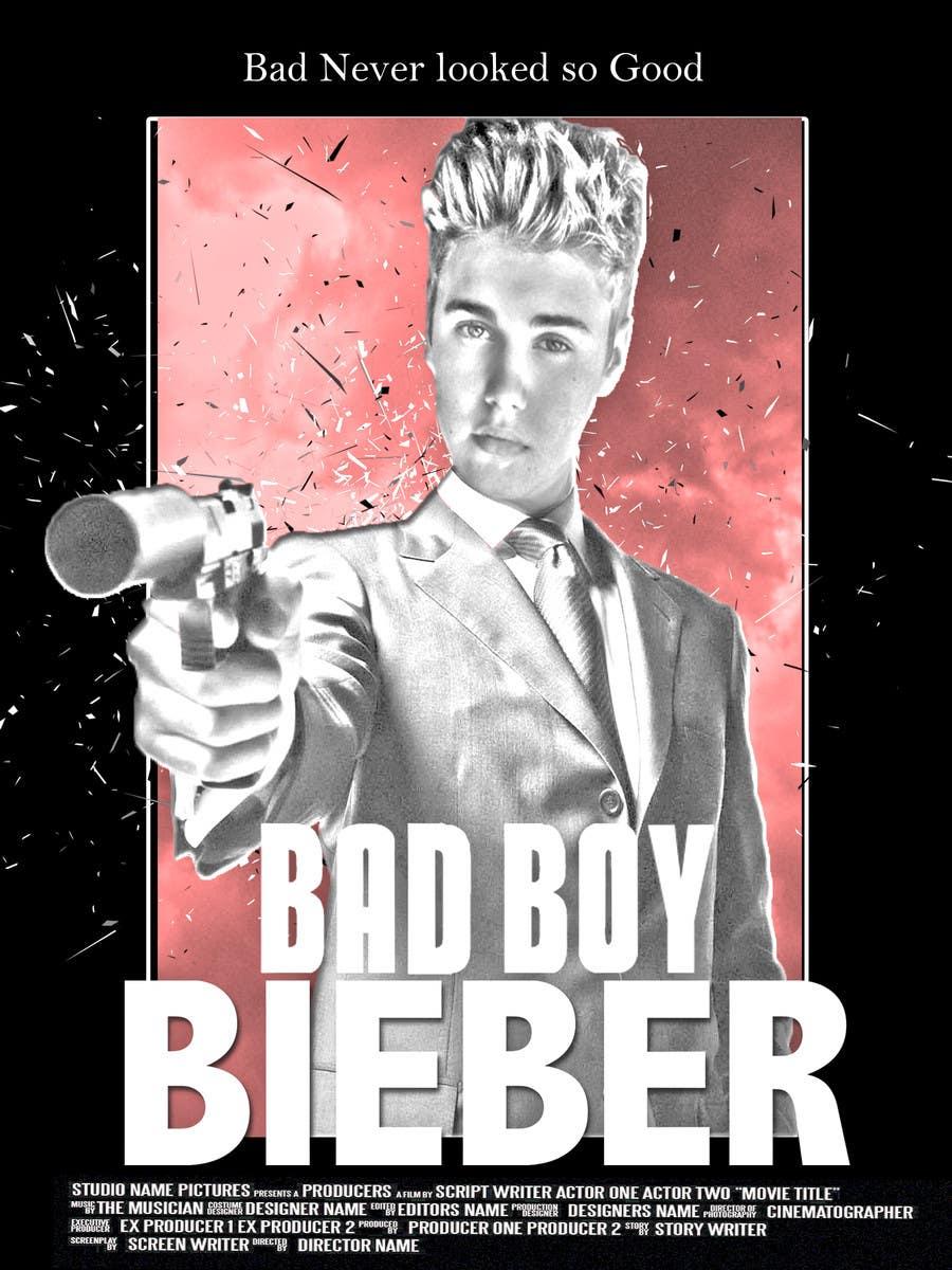 #143 for Design a poster for Gangster @JustinBieber, #BadBoyBieber! by brandonLee24