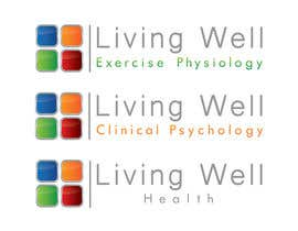#91 untuk Logo Design for Living Well Exercise Physiology oleh DailynHUng