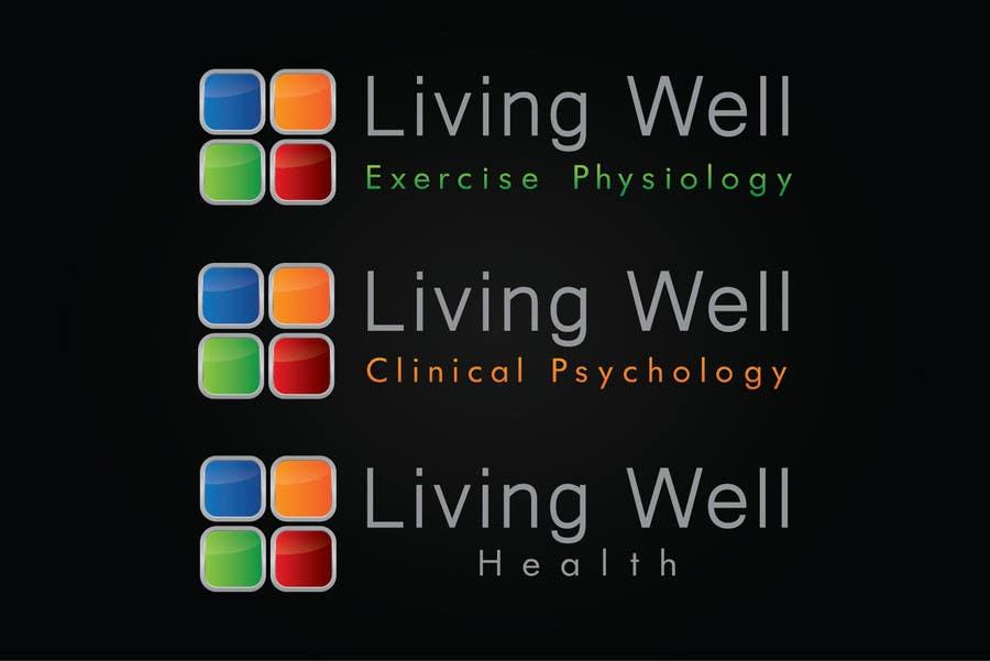 Kilpailutyö #97 kilpailussa Logo Design for Living Well Exercise Physiology
