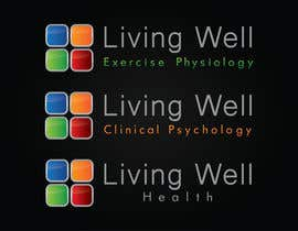 #97 untuk Logo Design for Living Well Exercise Physiology oleh DailynHUng