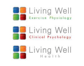 #106 untuk Logo Design for Living Well Exercise Physiology oleh DailynHUng