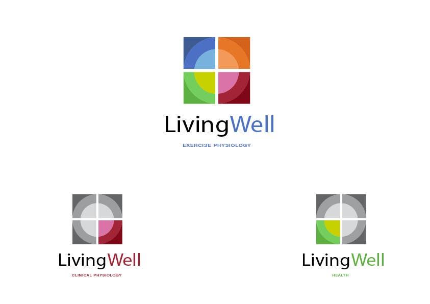 Kilpailutyö #71 kilpailussa Logo Design for Living Well Exercise Physiology