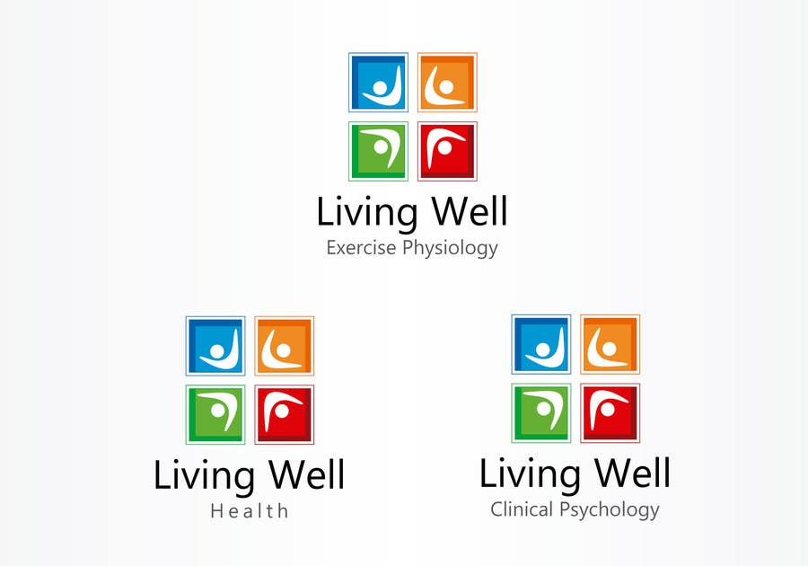 Kilpailutyö #53 kilpailussa Logo Design for Living Well Exercise Physiology